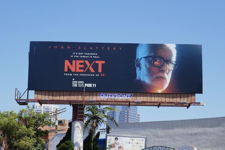 Next series launch billboard
