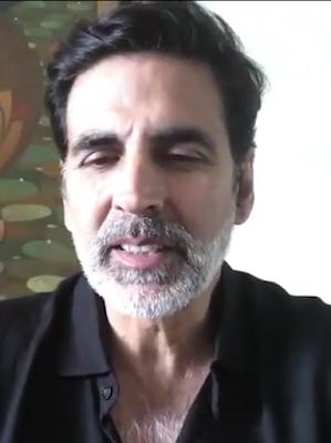 Akshay Kumar beard look
