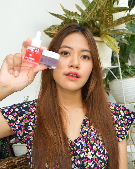 [Review] Fruitlab Fruit Infused Serum Pomegranate dan Blueberry Sleeping Cream