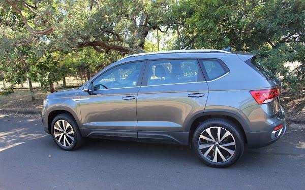 Volkswagen Taos 2022 Highline Cinza Indium