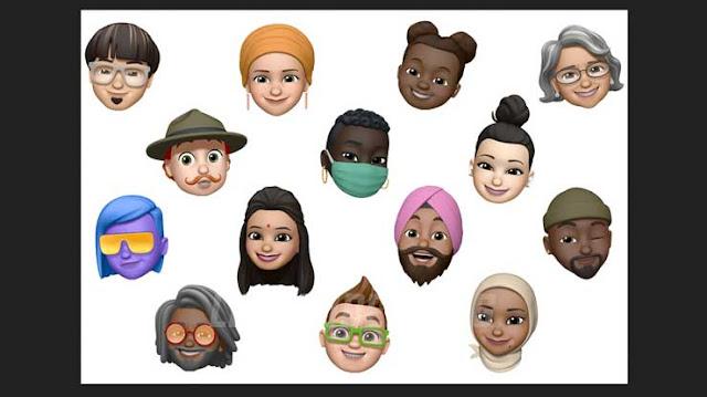Fitur-Terbaru-dan-Daftar-iPhone-Update-iOS-14-emoji-messages-leafcoder