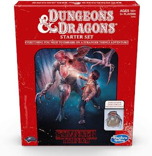 Stranger Things Dungeons and Dragons 5e starter set