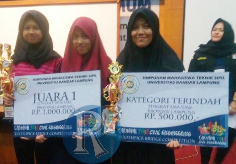 Tiga Siswa SMKN 1 Waytenong Ukir Prestasi di Kancah Nasional