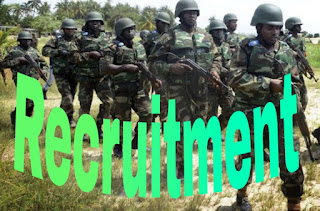Nigerian Army Recruitment Portal now open for candidates