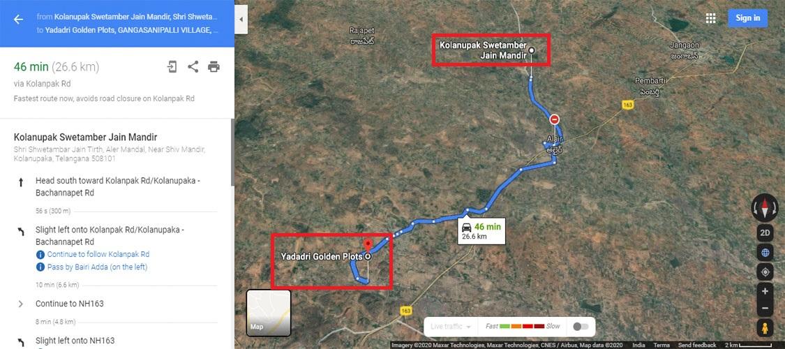 Kolanupak Swetamber Jain Mandir-1