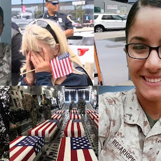Restos de la sargento Johanny Rosario llegarán hoy sábado  a Massachusetts y funerales serán el martes 14 en Lawrence