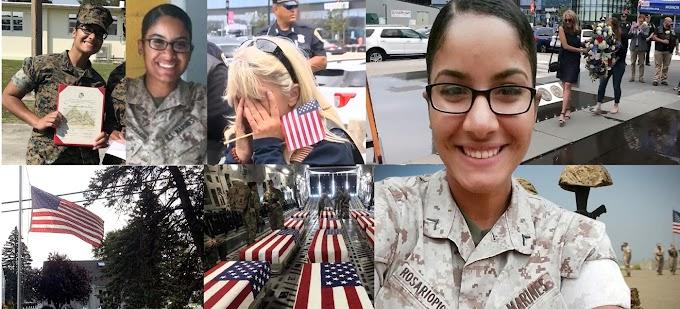 """""""Ella es una heroína y su servicio nunca será olvidado"""" proclama Infantería de Marina de EEUU sobre la sargento Johanny Rosario"""