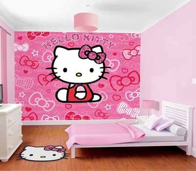 Info Top 27 Wallpaper Dinding Hello Kitty Pink