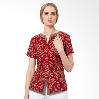 Model Baju Blus Batik Remaja Modern