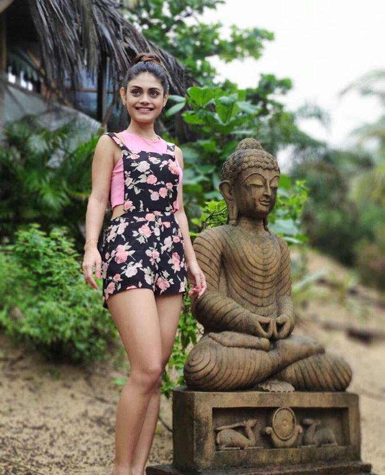 Short Dress Sreejita De Sexy looking Image