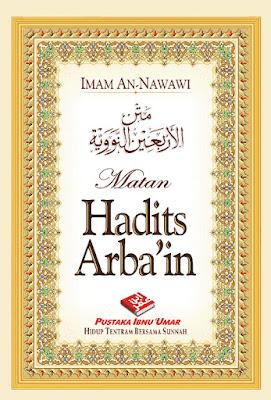 Free Download Terjemahan Kitab Hadits Arba'in An-Nawawiyah PDF