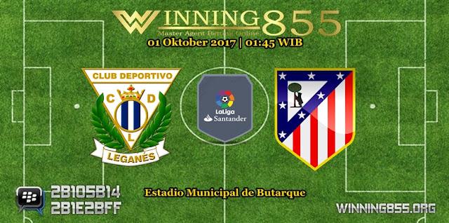 Prediksi Skor Leganes vs Atletico Madrid 01 Oktober 2017