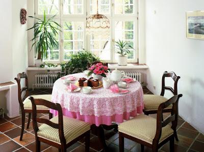 Ide Desain Dekorasi  Ruang makan Tempat makan Dalam Ruangan natura