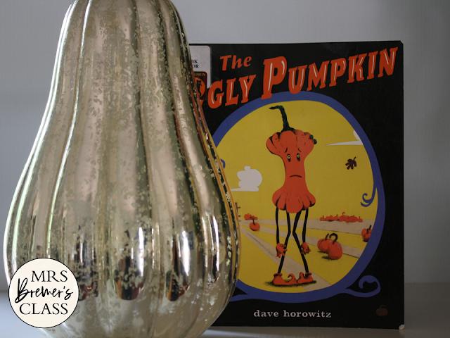 Ugly Pumpkin book study unit Common Core literacy companion activities fall Halloween K-1