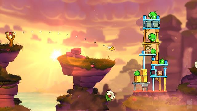 تحميل لعبة الطيور الغاضبة 4 Angry Birds للكمبيوتر من ميديا فاير