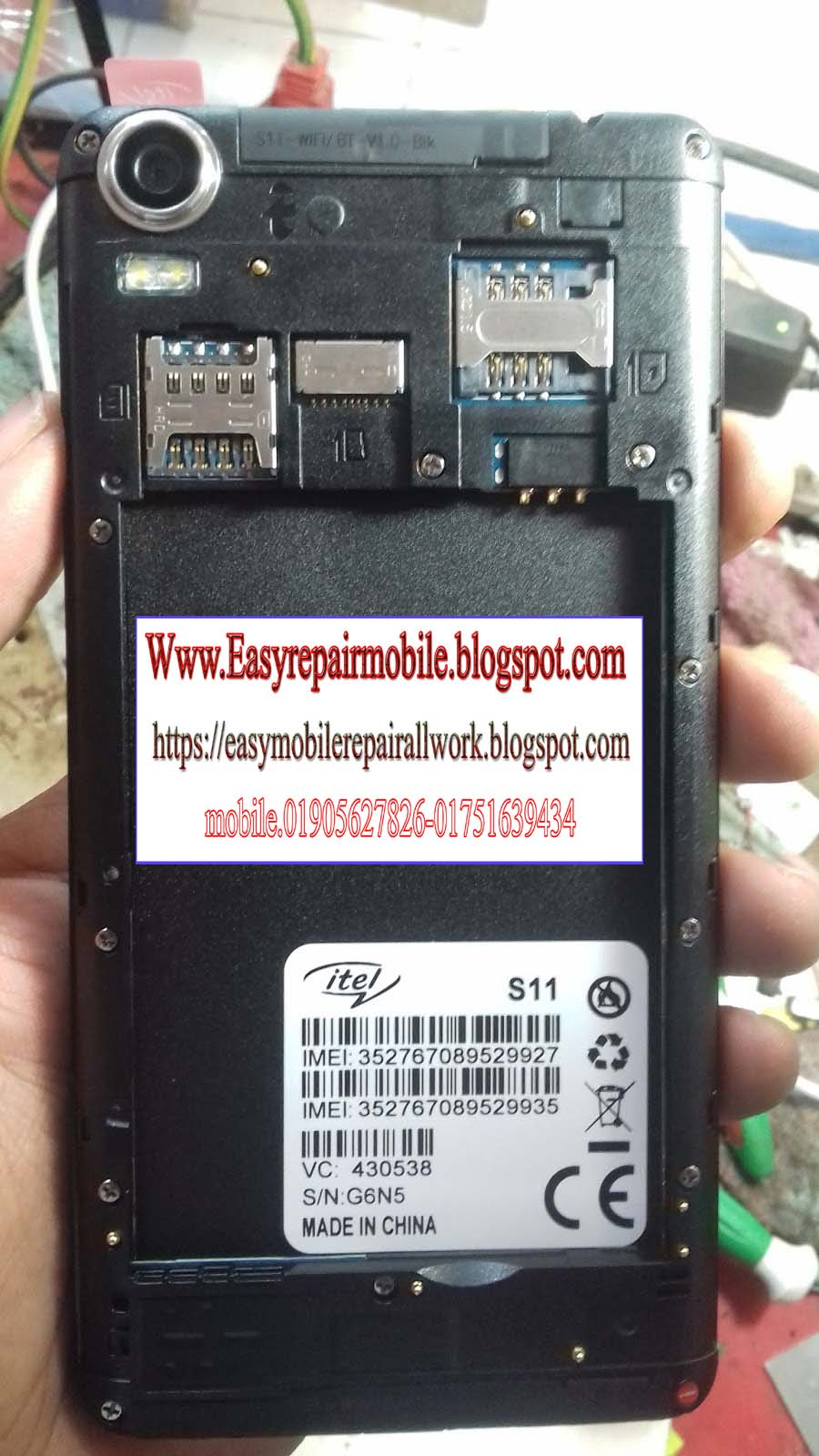 ITEL S11 FLASH FILE MT6580 6 0 not WITHOUT PASSWORD 1000% Tested