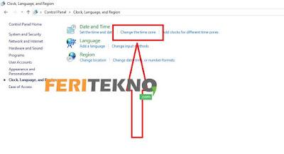 juga menampilkan jam dan tanggal pada pojok kanan bawah  Tutorial Mengubah Jam dan Tanggal Pada Windows 10+