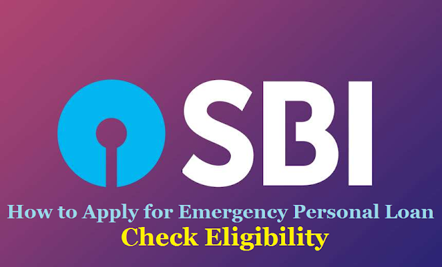 How to Apply for emergency Personal loan from SBI - Check Eligibility Get SBI emergency Personal loan from SBI - Within 45 Minutes Without Stepping Outside Your House, No EMI For Six Months; Check Details State Bank of India is providing a pre-approved emergency Personal loan amid the Coronavirus Pandemic The bank's customers can apply for the loan using the YONO appSBI Corona Lock down Emergency Personal Loan Check Eligibility | How to apply for emergency loan from SBI | Get pre-approved personal loan through SBI YONO app in just 4 clicks