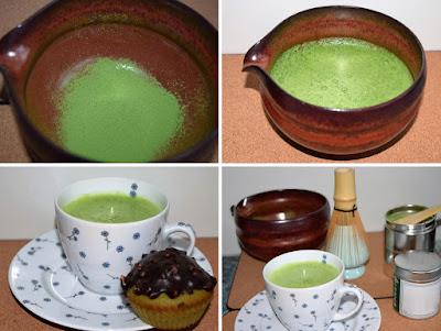Herbata Matcha, przygotowanie
