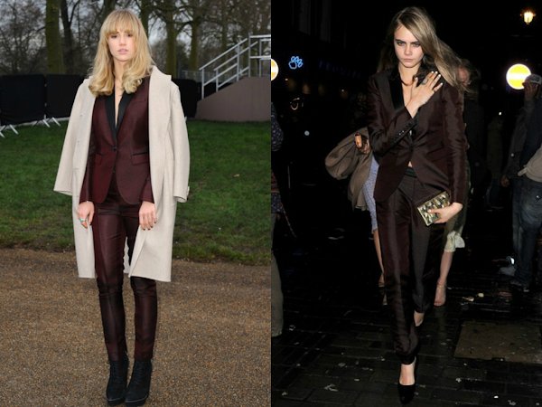 Suki Waterhouse vs Cara Delevigne