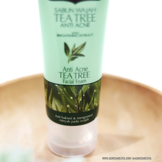 Herborist Facial Foam Tea Tree Anti Acne