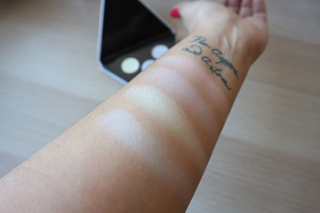 Prismatic 3D, W7, dupe, clon, Alchemist, Kat Von D, highlighter, shadows, makeup, beauty, beauty blogger, honest review, review.