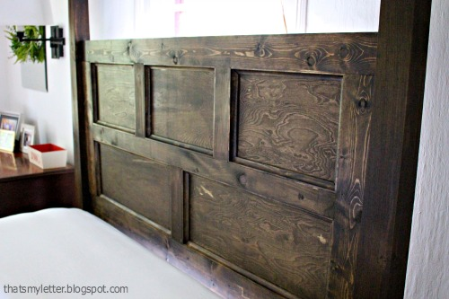 poster bed headboard panel