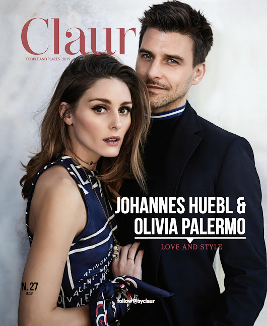 Male Fashion Trends: Olivia Palermo y Johannes Huebl son una pareja perfecta para Claur Magazine