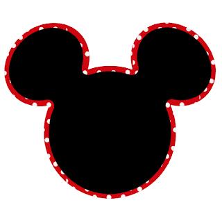 Originales Cabezas De Mickey Con Orillas Bonitas Ideas