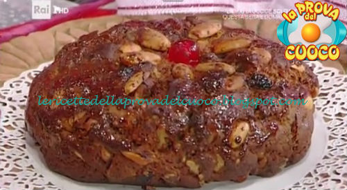 Pane dolce di Natale ricetta Cattelani da Prova del Cuoco