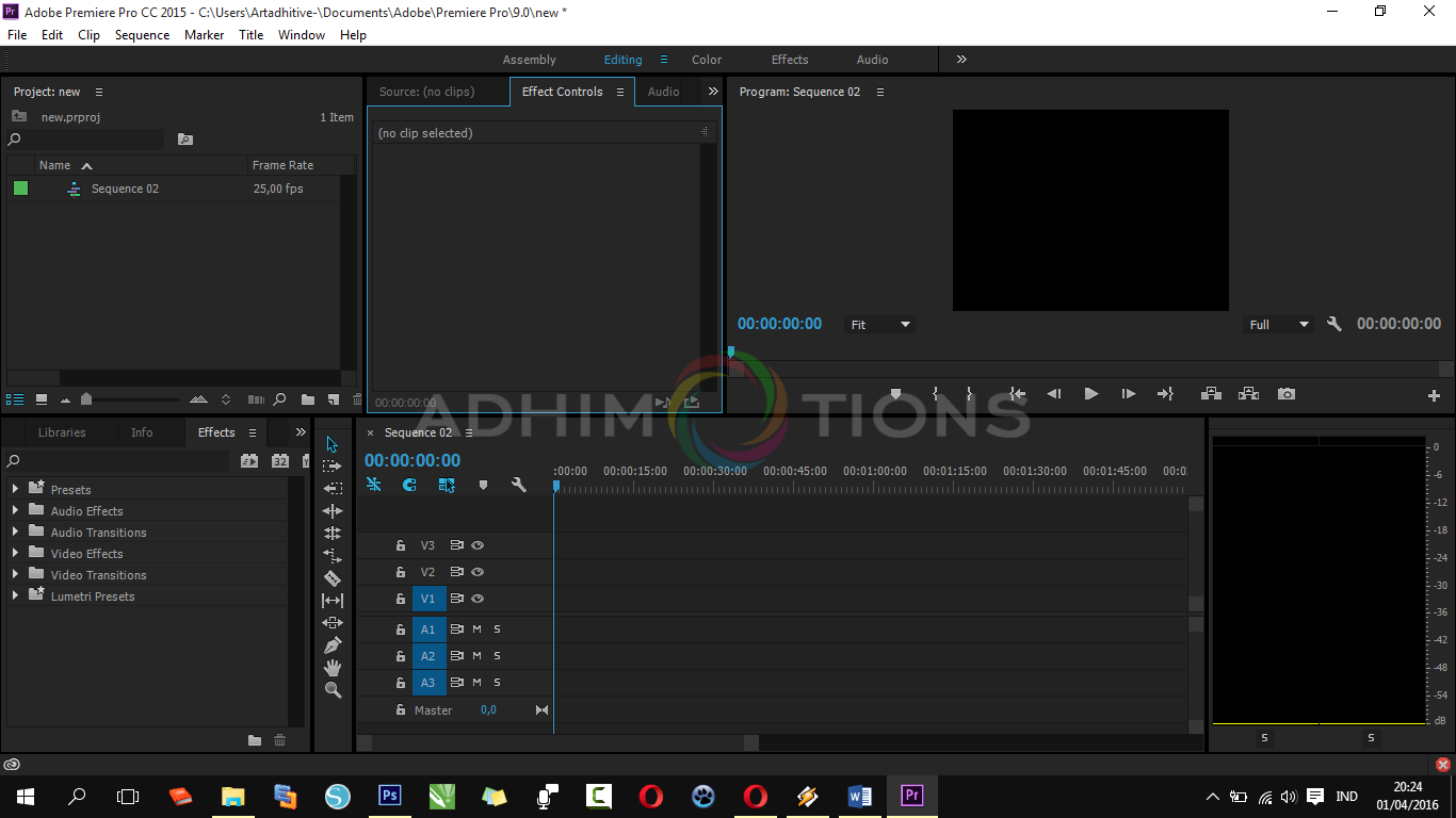 Download Adobe Premier Pro cc 2015