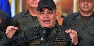 El ministro para la Defensa, Vladimir Padrino López, rechazó las recientes declaraciones del presidente de Colombia