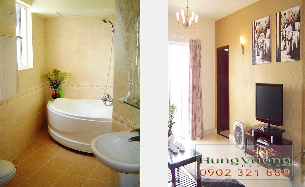 Hùng Vương Plaza Quận 5 - không gian phòng tắm