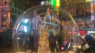 The Temptations Broadway Snow Globe Times Square New York City