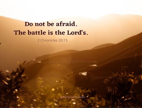 "Meme that says, ""Do Not Be Afraid."""
