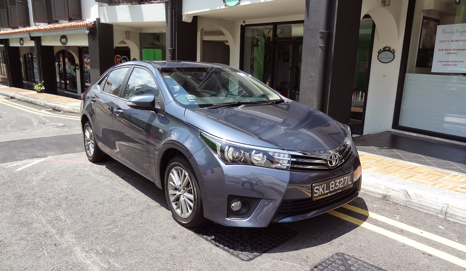 all new corolla altis top speed kijang innova shaun owyeong the toyota a legend redefined saturday april 11 2015