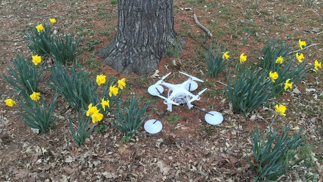 Dengan Alat Ini, Drone DJI Phantom Kamu Bisa Take-Off di Air