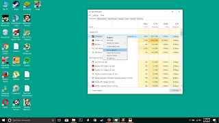 Screenshot task manager