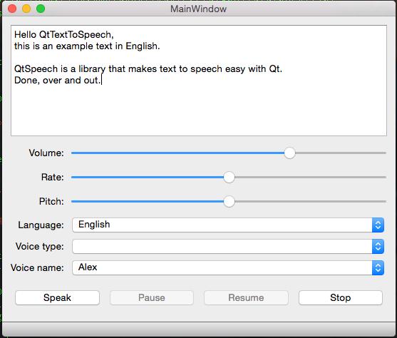 Ramblings of a software engineer: QtSpeech progress
