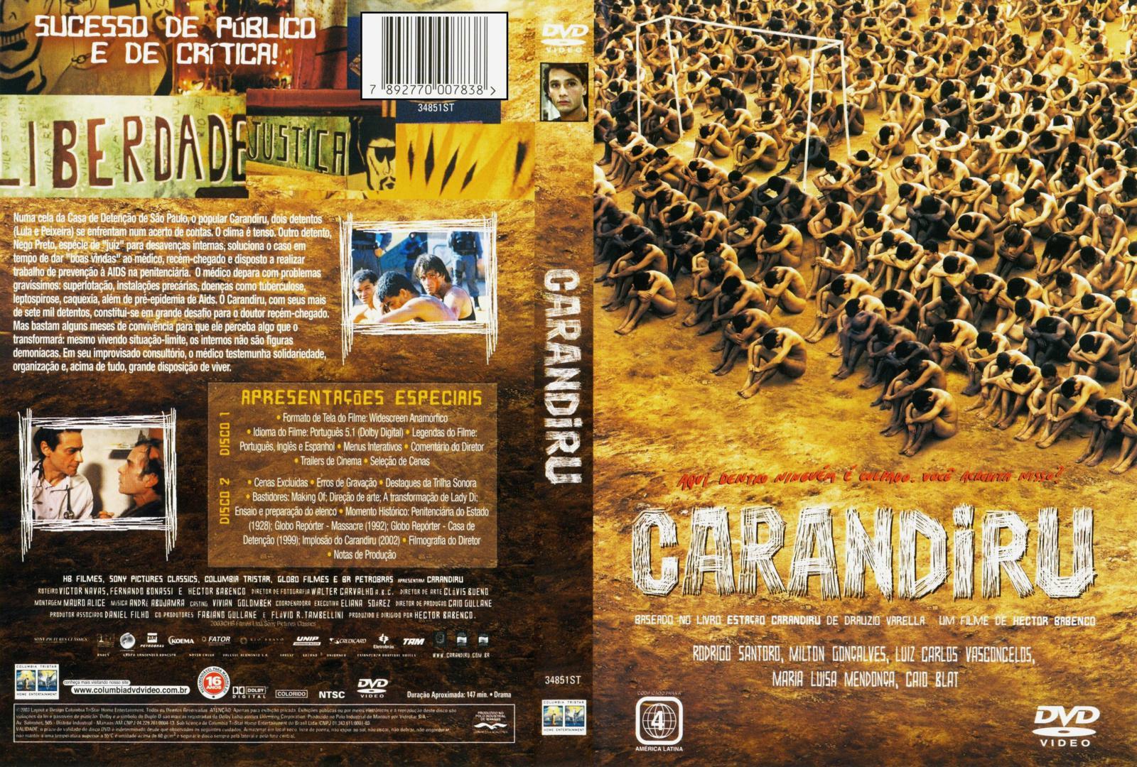 Carandiru DVD Capa