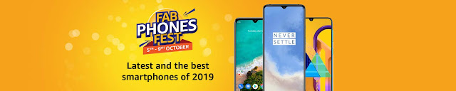 Amazon Fab Phones Fest: Bumper discounts on other smartphones including OnePlus 7, Redmi 7A, Vivo V15