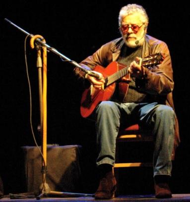 Foto de Facundo Cabral en concierto