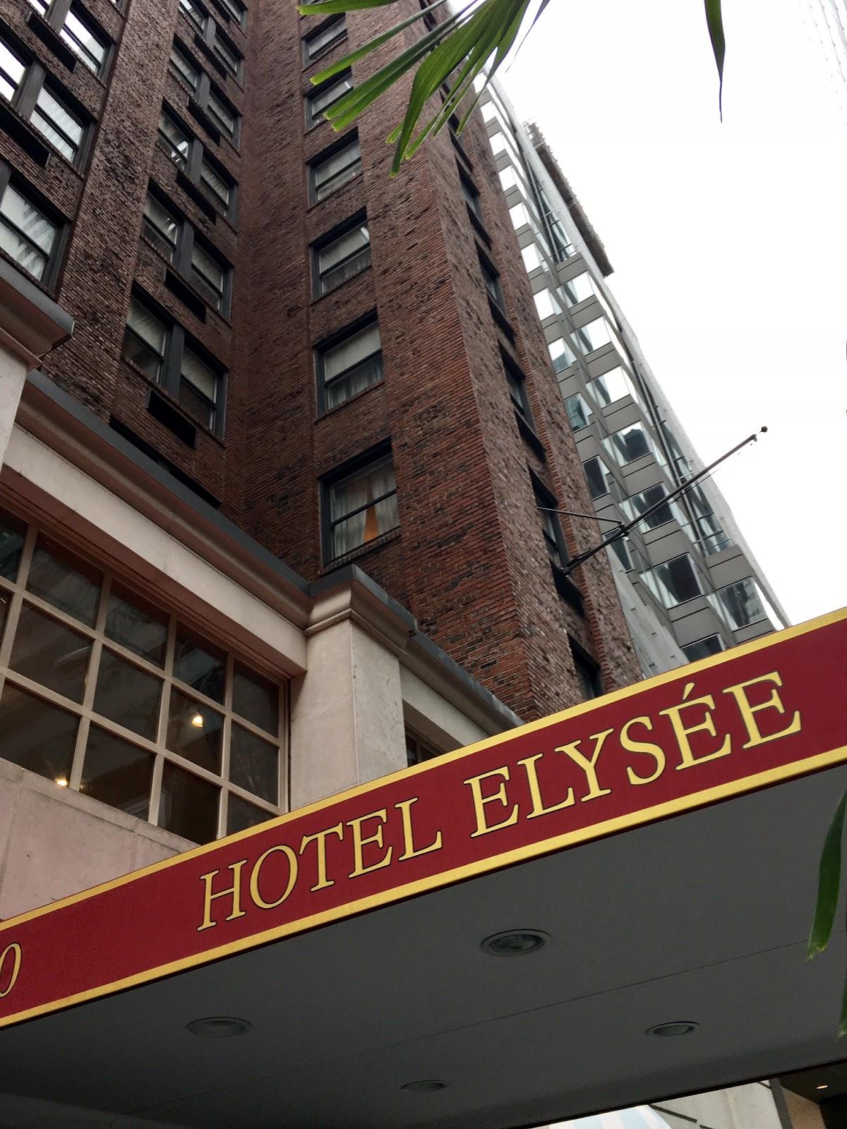 Hotel Elysee New York City