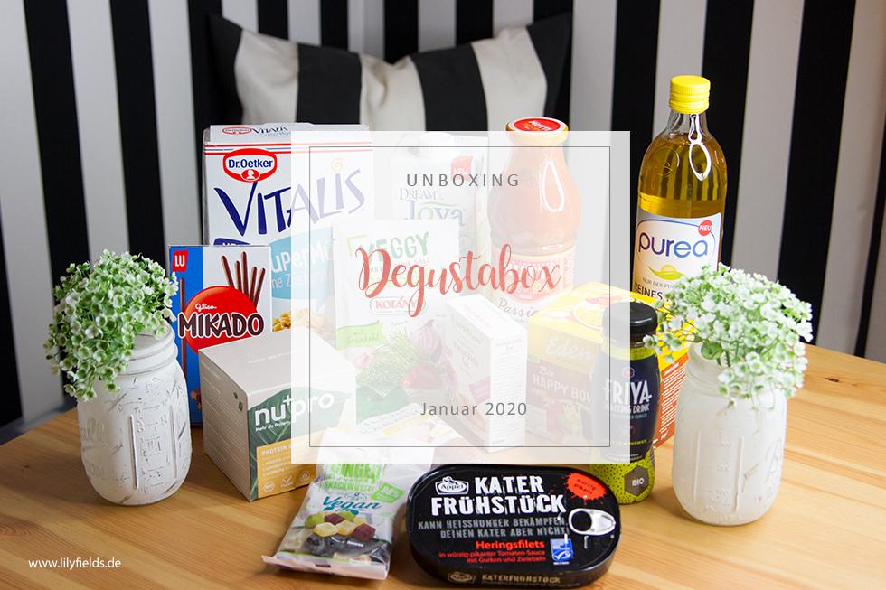 Degustabox - Januar 2020 - unboxing