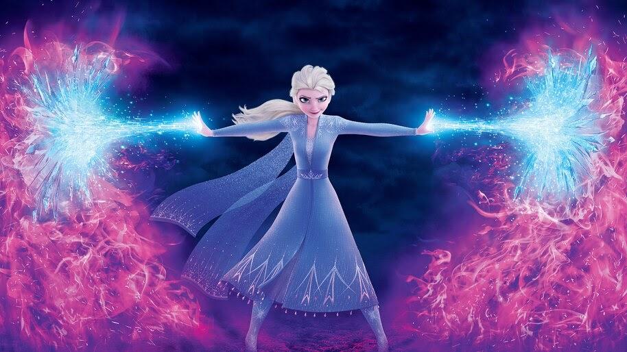 Frozen 2, Elsa, 8K, #7.244