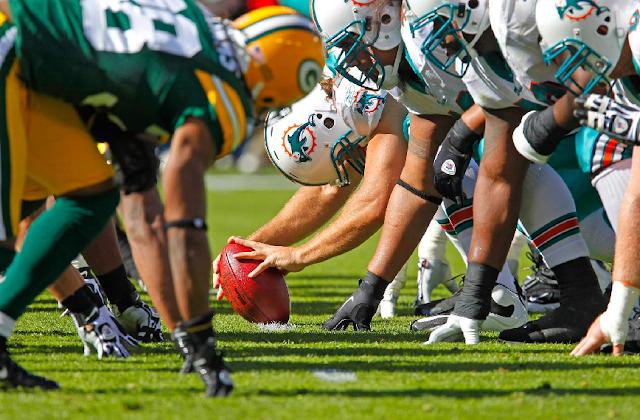Informações dos jogos do Miami Dolphins e NFL em Miami