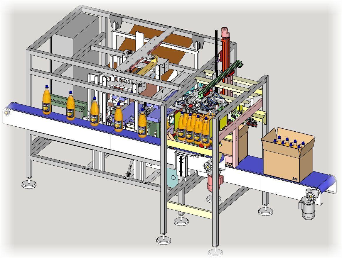 Siscodata robotics sis316 bottles bm formacartoni riempimento e chiusura carton former - Modulo chiusura automatica specchi retrovisori ...