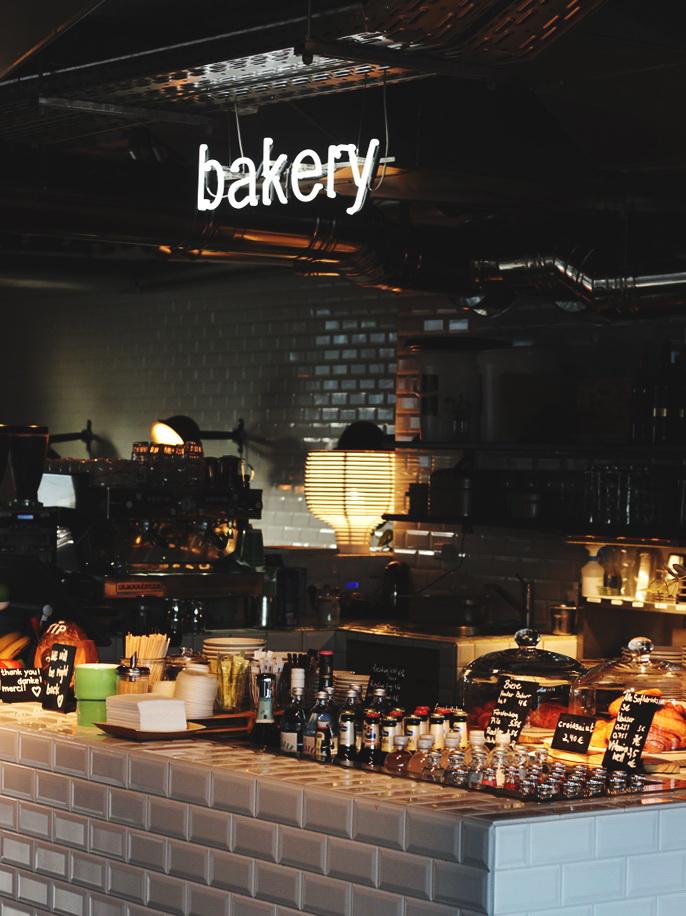 25hours Hotel Bikini Berlin bakery