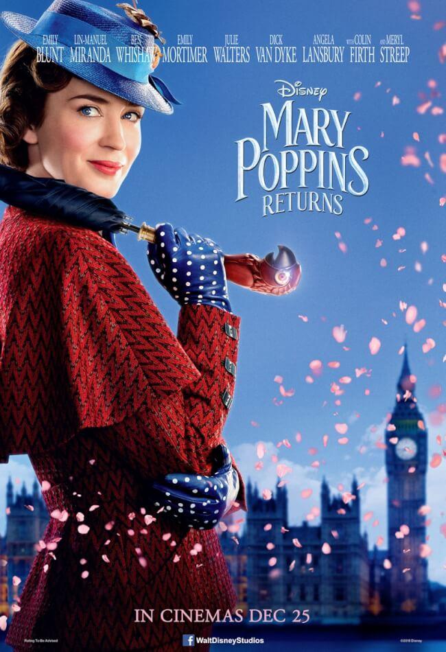 Mary Poppins Returns (2018) HD Монгол хэл