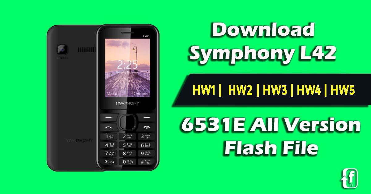 symphony l42 flash file hw2, hw3, hw4, hw5